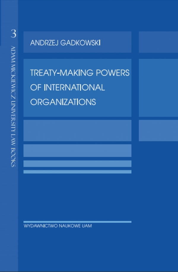 Treaty-making powers of international organizations