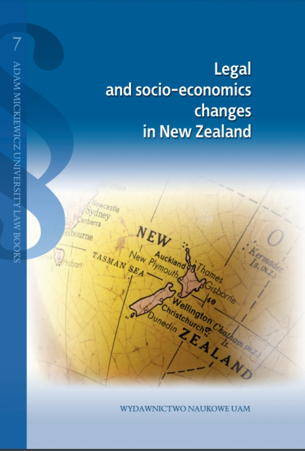 Legal and socio-economics changes in New Zealand
